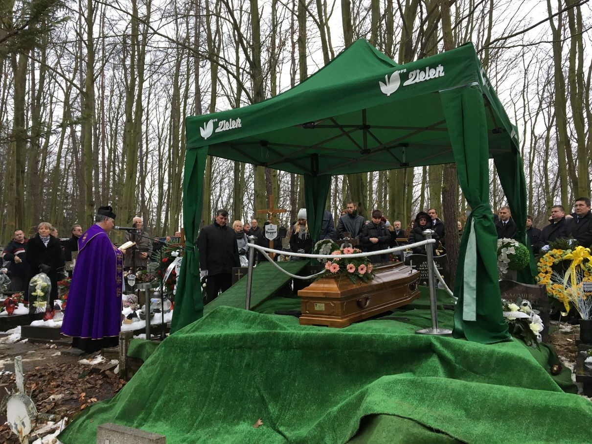 Begger pogrzeb JW Pogrzeb Miroslawa Beggera jw IMG_2035