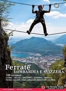 DD Okładka książki o szwajcarskich i lombardzkich ferratach
