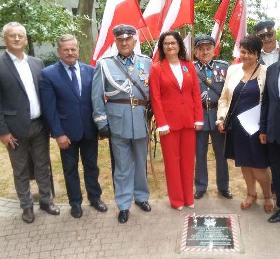 Andrzej Leyk - uroczystości patriotyczne z Piłsudczykami
