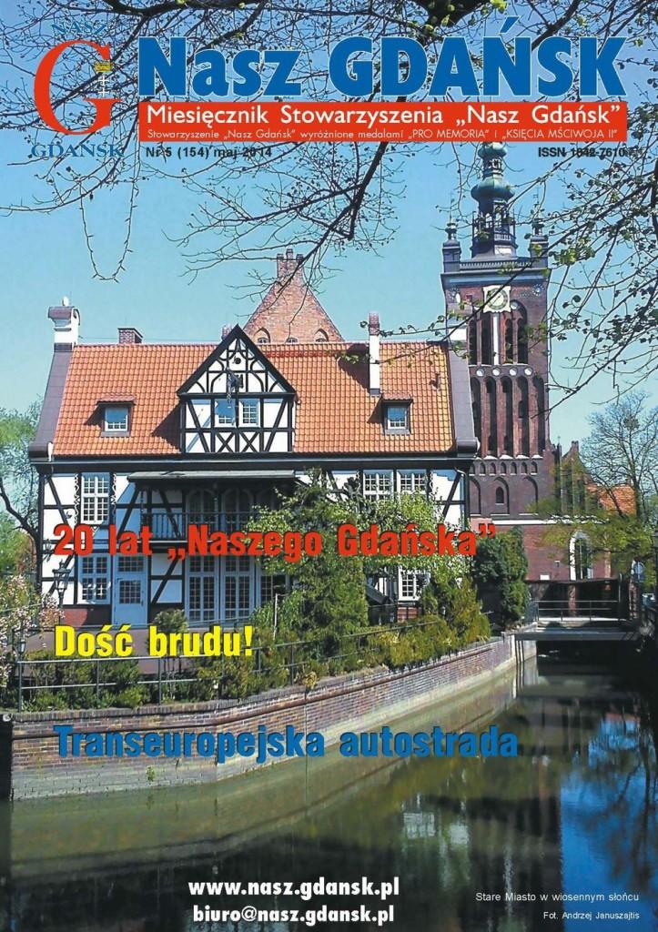 Miesięcznik Nasz Gdańsk nr 5 (2014)