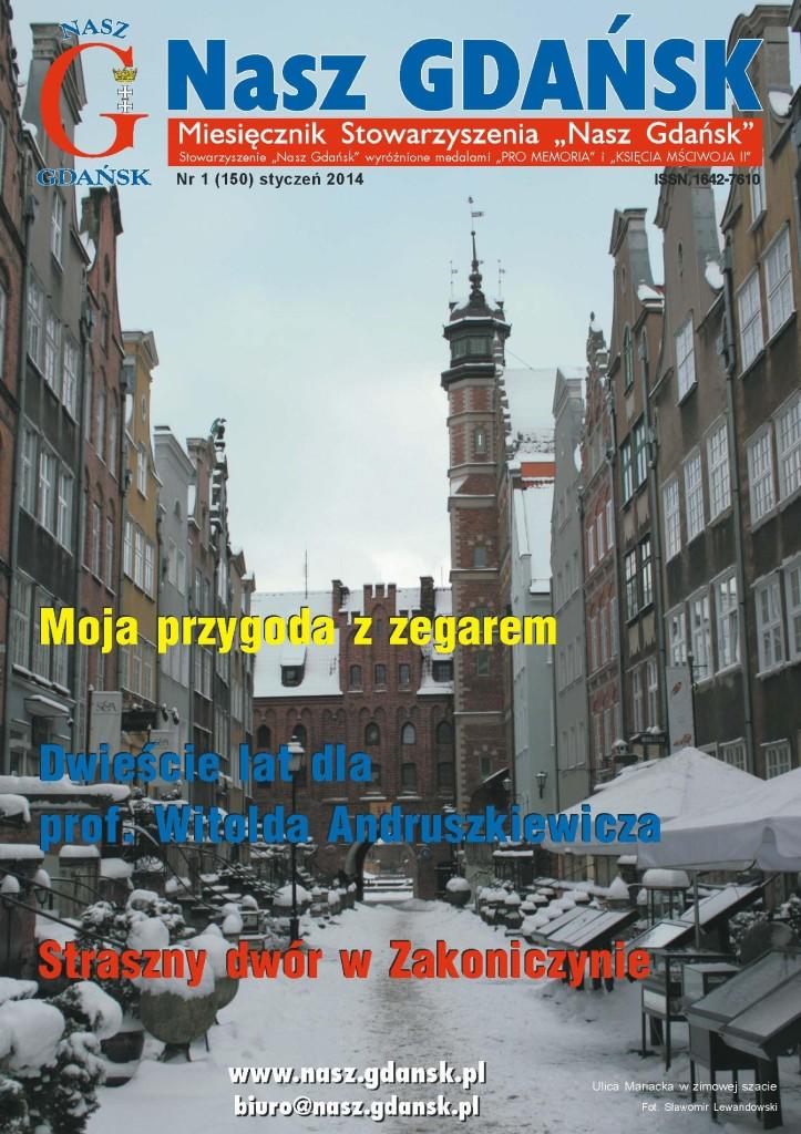 Miesięcznik Nasz Gdańsk nr 1 (2014)