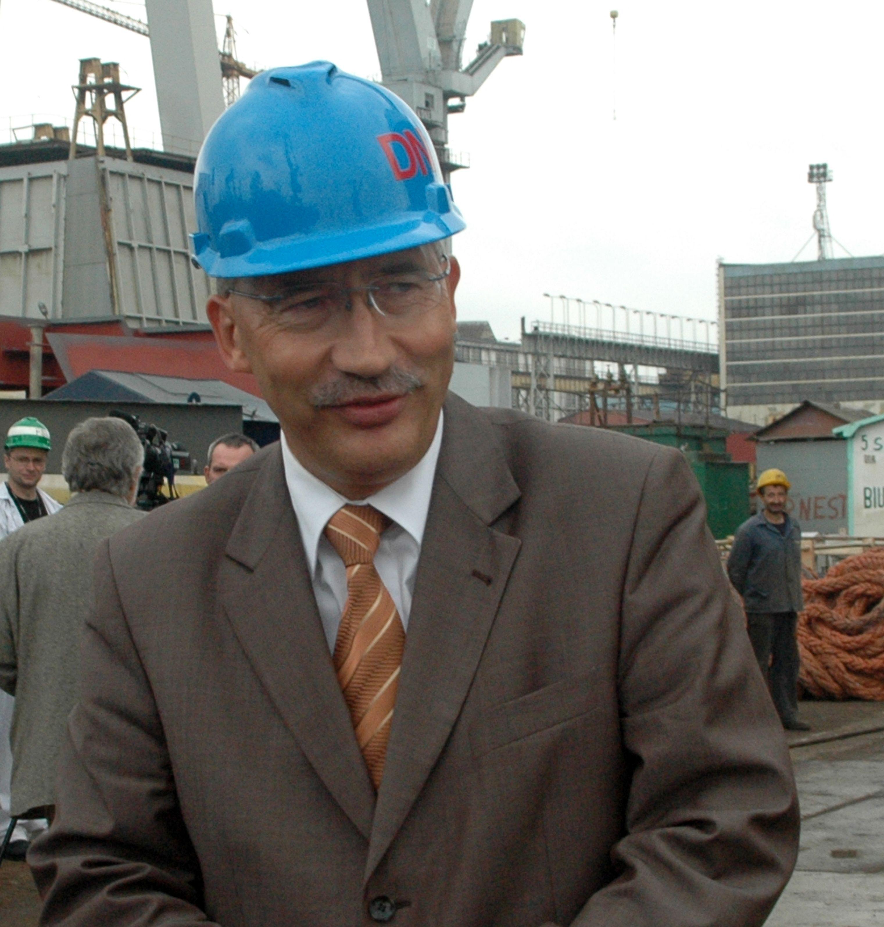 Smolinski Kazimierz w Stoczni Gdynia Fot. J.Wikowski