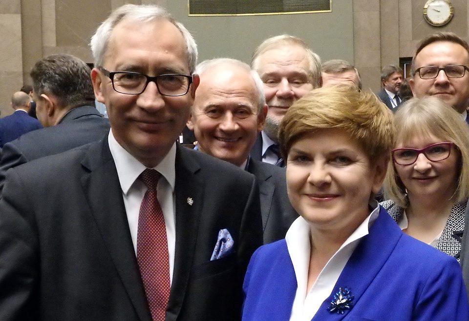 Smolinski i premier Szydlo