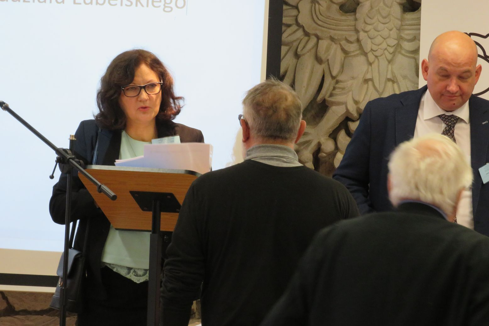 Dyrektor Biura SDP Bożenna Dobrzyńska