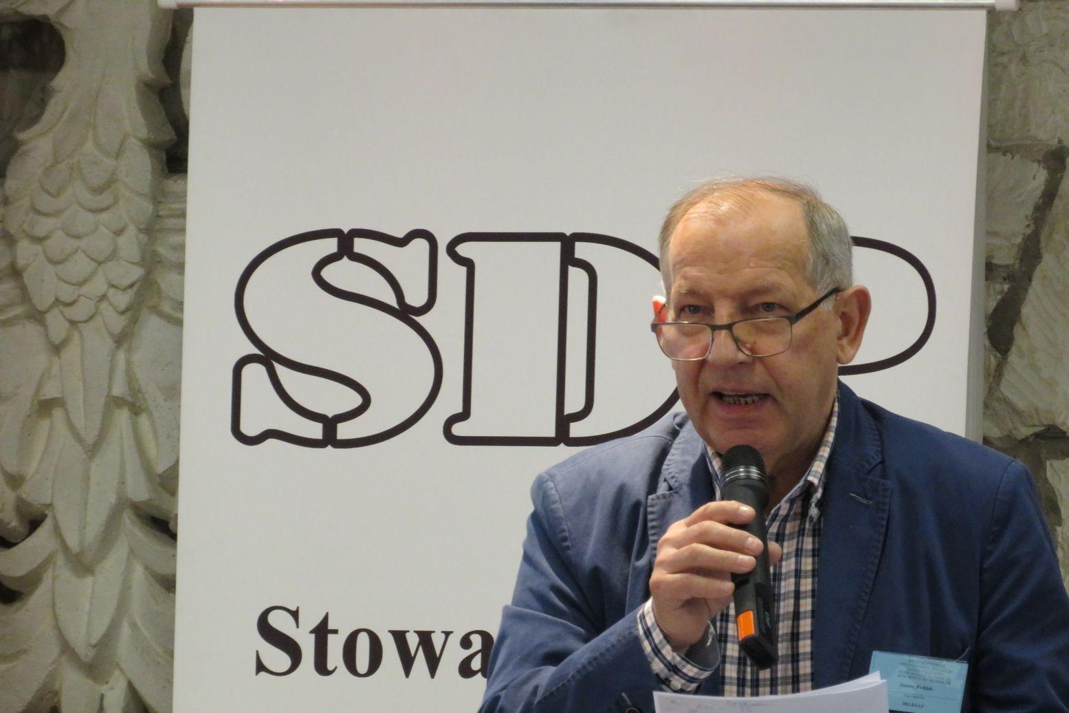 Janusz Pichlak z Warszawy