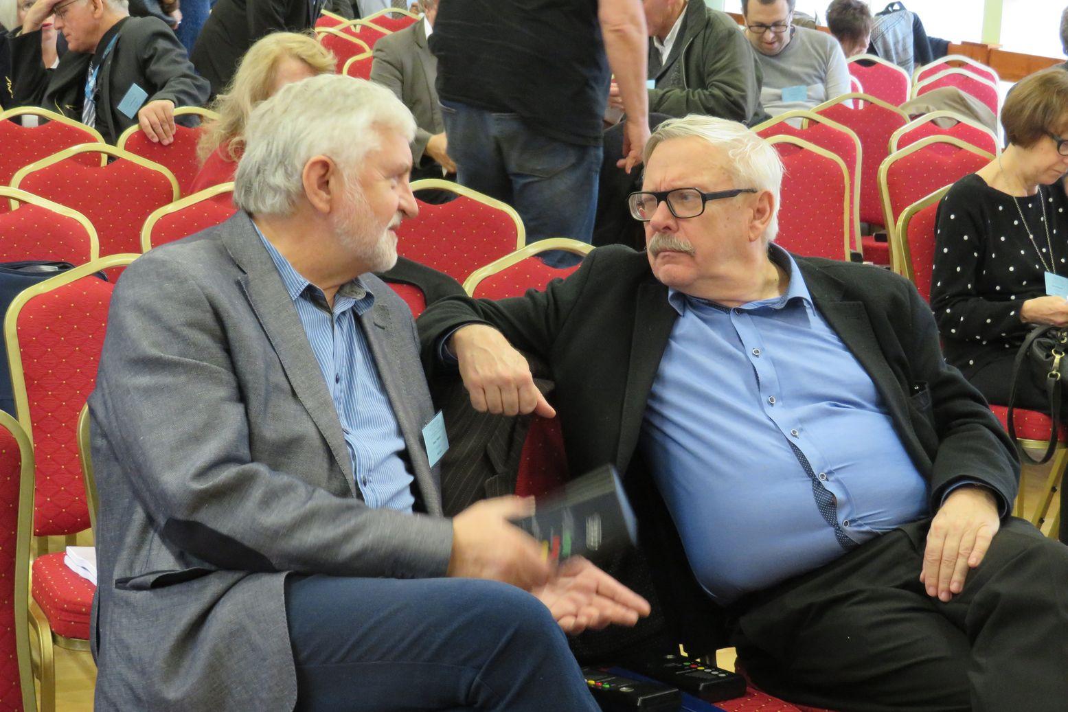 Janusz Wikowski i Marcin Wolski