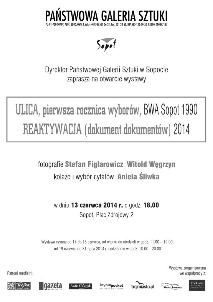 Zaproszenie na Ulicę Figlarowicza