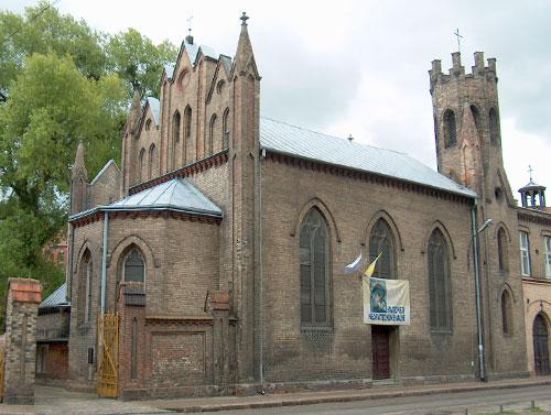 Kościół Gdańsk - Łakowa