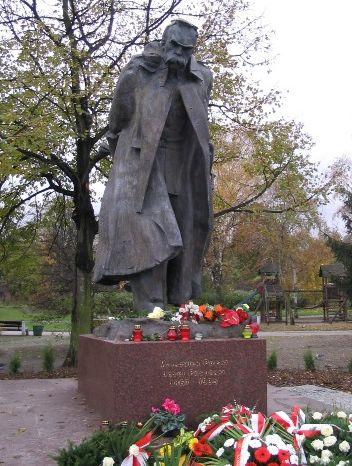 Pomnik J. Piłsudskiego we Wrzeszczu