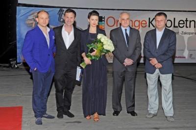 Kino Letnie B.Szyc, P.Adamski, A.Grochowska, B.Duthoit, J.KArnowski
