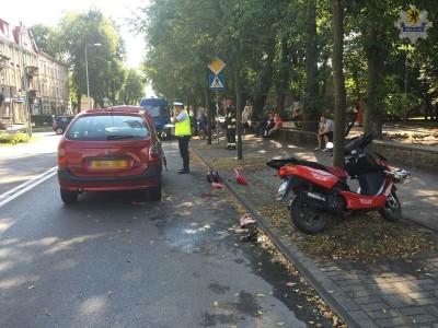 WEJHEROWO - Wypadek na ul. Sobieskiego w Wejherowie  6