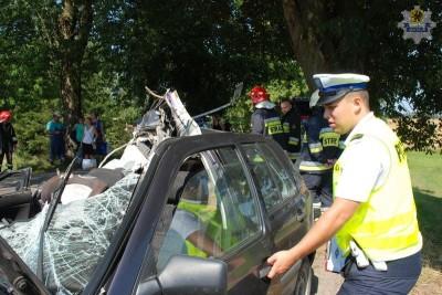 Wejherowo - wypadek w Jeleńskiej- Hucie