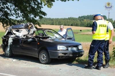 Wejherowo - wypadek w Jeleńskiej- Hucie  9