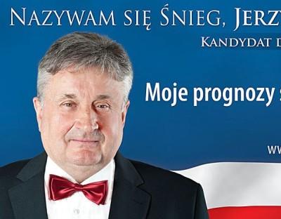 snieg jerzy Wybory2011