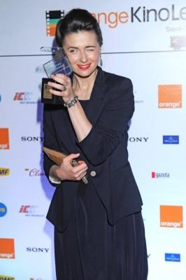 Orange Kino Agnieszka Grochowska z Diamentowym Klapsem Filmowym