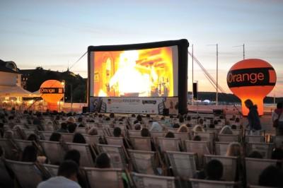 Orange Kino Letnie kino na Molo