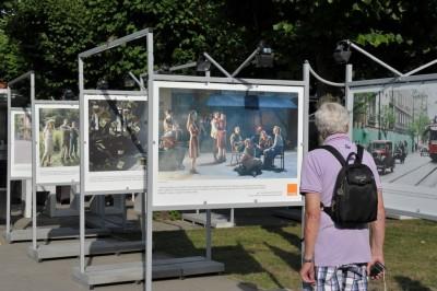 Orange Kino wystawa Miasto44