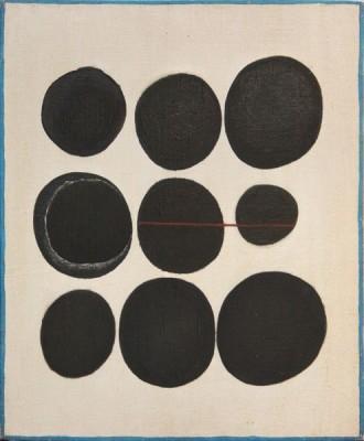 Wystawa Stanisław Fijałkowski, Asta - 8 -VIII 62, 1962, olej-płótno, 60 x- 50 cm