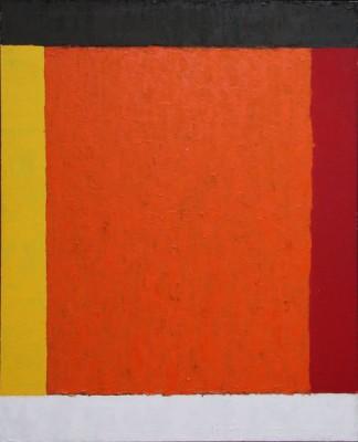 Wystawa Stefan Gierowski, Ob. DCCV, olej--płótno, 160 x 130 cm