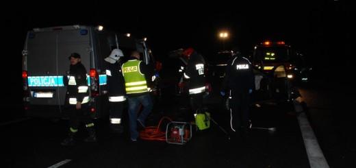 Pruszcz DK 7 wypadek (2)