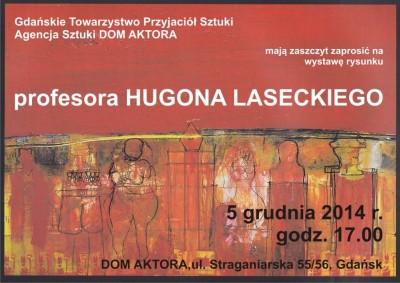 Wystawa Lasecki 05.12.2014_prof.Lasecki_zaproszenie