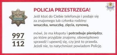 policja przestrzega 27084a