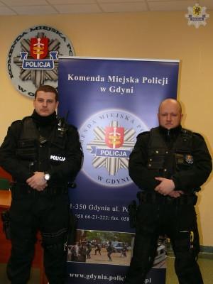 pol gdynia policjanci 27706