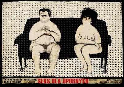 teatr plakat do SEKSU DLA OPORNYCH