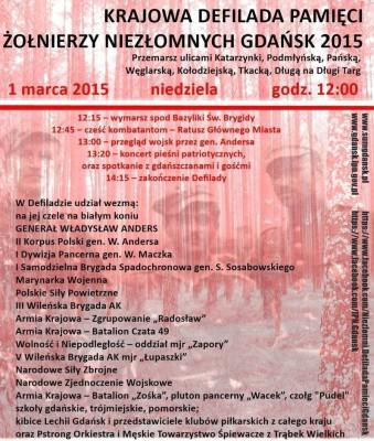 Plakat Defilada Pamieci Gdansk 2015 ok