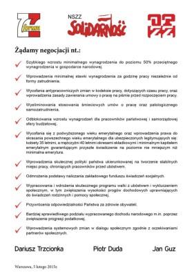 protest Ulotka_postulaty