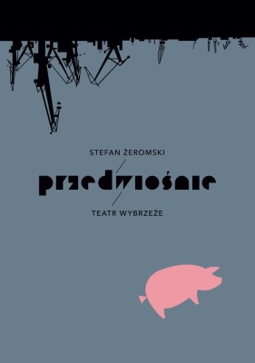 plakat do PRZEDWIOŚNIA autor Jerzy Skakun