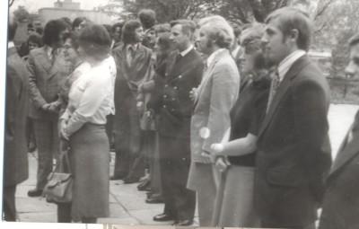 TE Janusz Wikowski spotkanie w 1975 r
