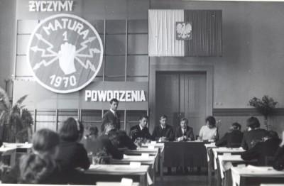 Technikum Elektryczne Janusz Wikowski matura 1970
