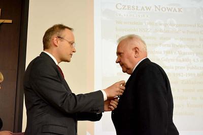 Nowak Czeslaw odznaczenie