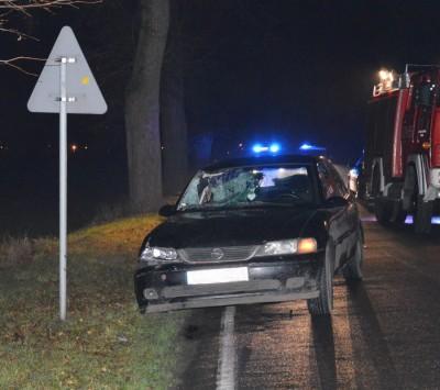 Starogard Gdański - wypadek z udziałem pieszego2