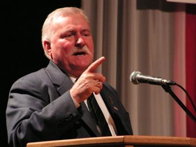 Lech Wałęsa. Fot Arch Czas