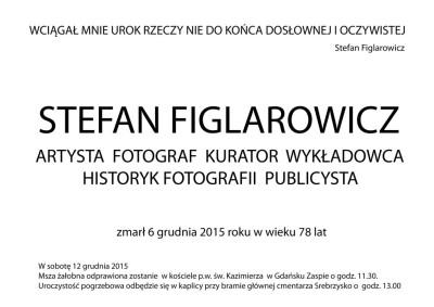 figlarowicz nekrolog