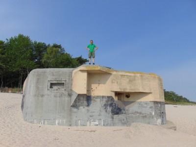 Dempc Daniel sm Bunkier na plaży