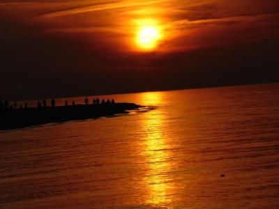 Dempc Daniel sm Zachód słońca w Jastarni