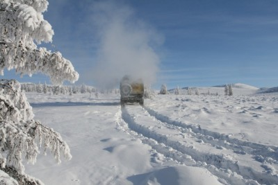Koperski Syberia zimą