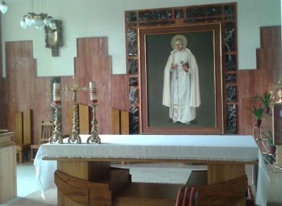 lichen kaplica sw. St Papczynskiego jw