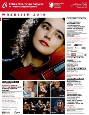 Filharmonia plakat IX 2016