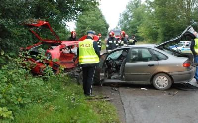 pol Starogard Gdański - Śmiertelny wypadek drogowy
