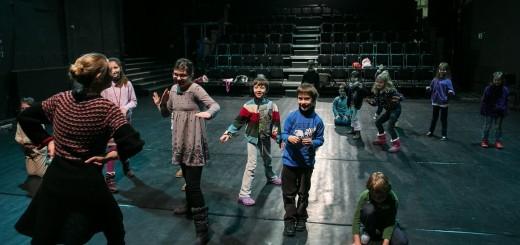 warsztat w Teatrze Wybrzeże foto- Dominik Werner
