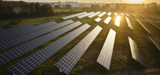 26.09.2014 Przejazdowo. Farma paneli słonecznych ENERGA. fot. Paweł Wyszomirski/ www.redseven.pl