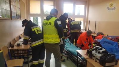 pol ewakuacja gimnazjum przejazdowo
