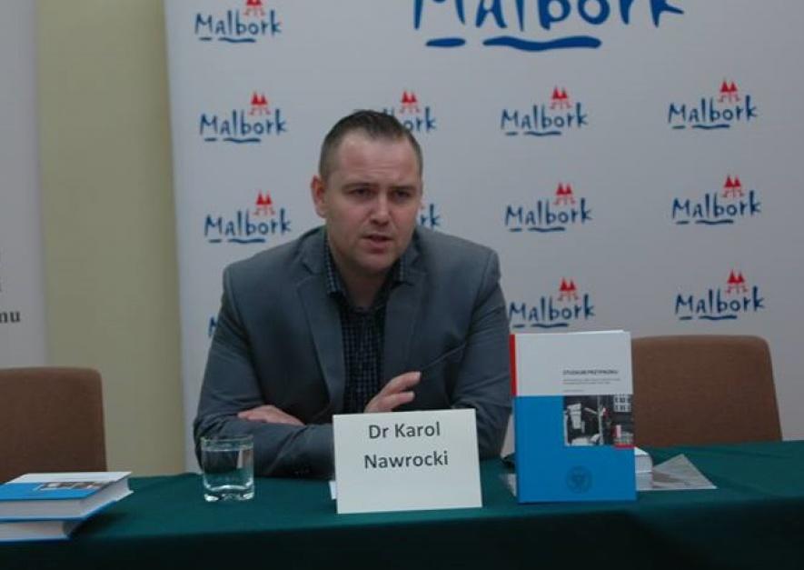 NaWROCKI Karol Nawrocki przewodniczy Radzie Dzielnicy Gdańsk – Siedlce. fot. Facebook