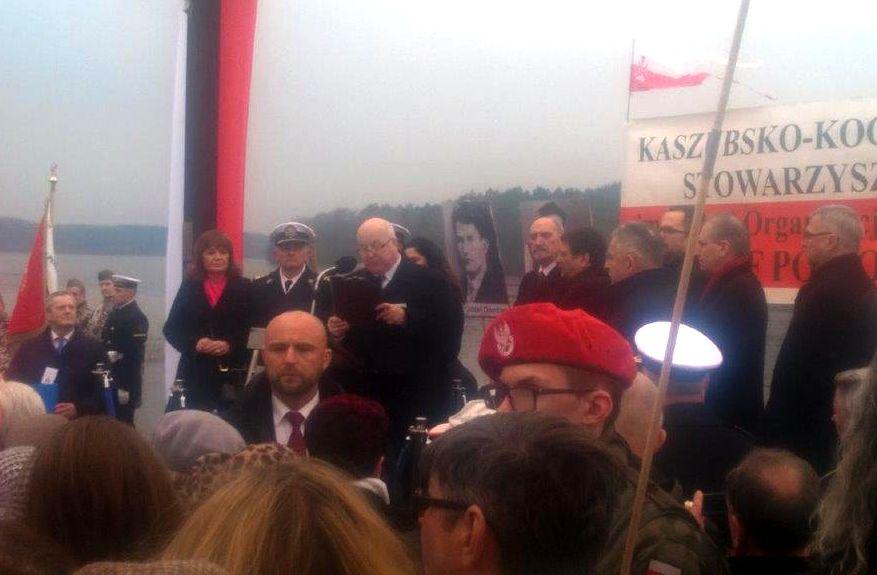 Andrzej Leyk - uroczystości patriotyczne